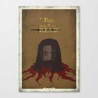 Game Of  Thrones - Baelo… Canvas Print
