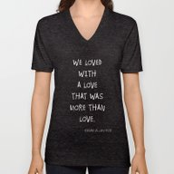 More Than Love Poster 01 Unisex V-Neck