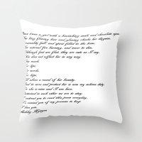 Doolittle Designs Throw Pillow