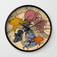 Neanderway Wall Clock