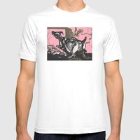 Sheep In Labor Mens Fitted Tee White SMALL