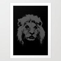 Lioness No.2 Art Print