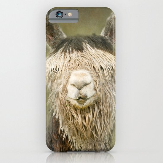 Alpaca with a fringe..! iPhone & iPod Case