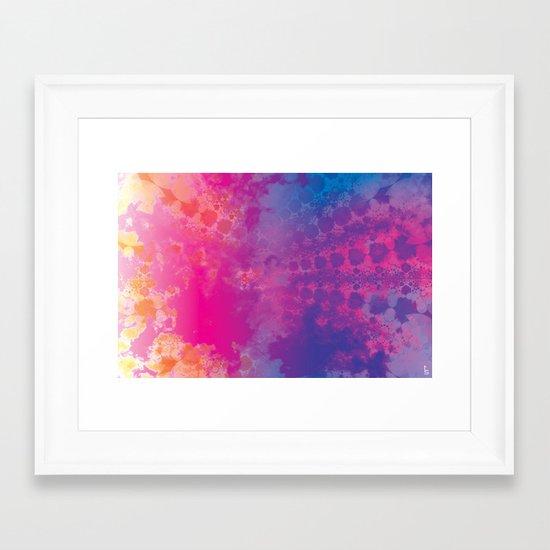 Color Texture III Framed Art Print