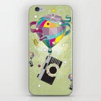 Traveling Camera iPhone & iPod Skin