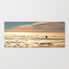 Up Above the Clouds Canvas Print