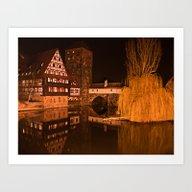 Romantic Nuremberg Bavar… Art Print