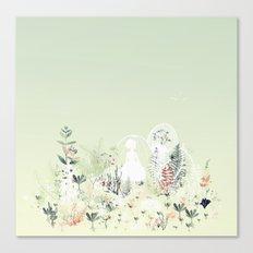 lady mistick Canvas Print