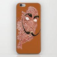 DALI STACHE iPhone & iPod Skin