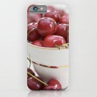Cherries In A Teacup iPhone 6 Slim Case