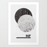 Calculating A Jump Over … Art Print