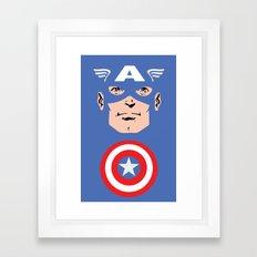 Captain A Framed Art Print