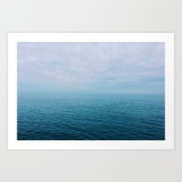 The Endless Sea Art Print