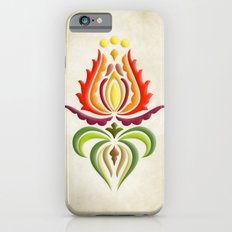 Fancy Mantle on Vintage Background iPhone 6 Slim Case