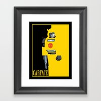 Carface Framed Art Print