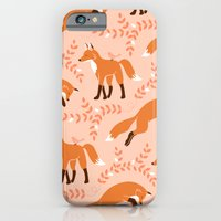 iPhone & iPod Case featuring Socks the Fox - Dawn by Patty Sloniger