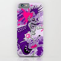 iPhone & iPod Case featuring Punk Is Not Dead by JoJo Seames