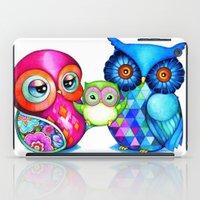 Owl Parents iPad Case
