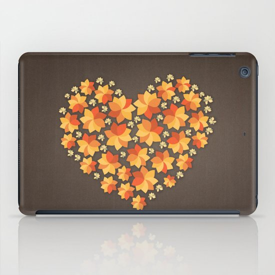 Denim Heart iPad Case
