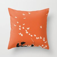 Managing Change Throw Pillow
