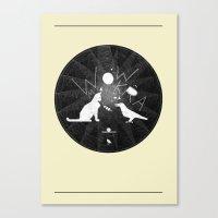 Urban Animal Noise Canvas Print