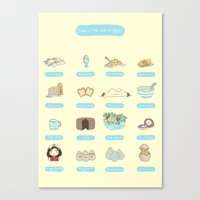 Some of the uses of eggs Canvas Print