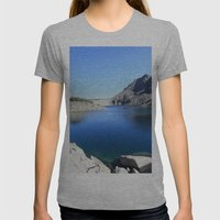 Anna Lake Womens Fitted Tee Athletic Grey SMALL