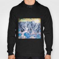 Elephants In Crashing Wa… Hoody
