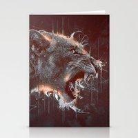 DARK LION Stationery Cards