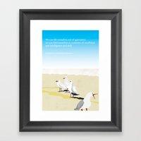Jonathan Livingston Seag… Framed Art Print