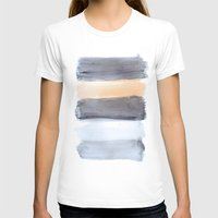 stripes T-shirts featuring Stripes by Sweet Colors Gallery