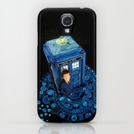 Doctor Who At Arch Of Ti… Galaxy S4 Slim Case