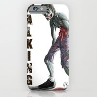 walking dead iPhone & iPod Cases featuring Walking Dead by FulgenSHOW Art