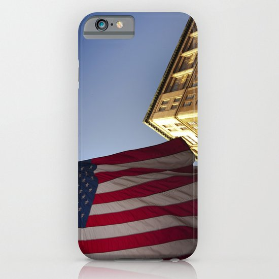 Cornice with flag iPhone & iPod Case