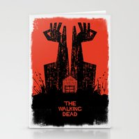walking dead Stationery Cards featuring The Walking Dead. by David