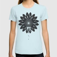 Tragedy Womens Fitted Tee Light Blue SMALL