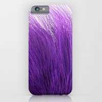 iPhone & iPod Case featuring Purple Fuzz by FalexanderArt
