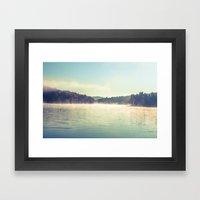 Peaceful Reflections Framed Art Print