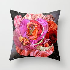 Rose Of Roses Throw Pillow