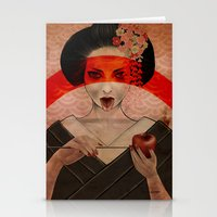Geisha Stationery Cards