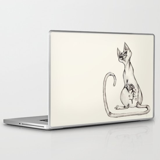Cats with Tats v.1 Laptop & iPad Skin