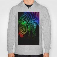 Rainbow Zebra Hoody