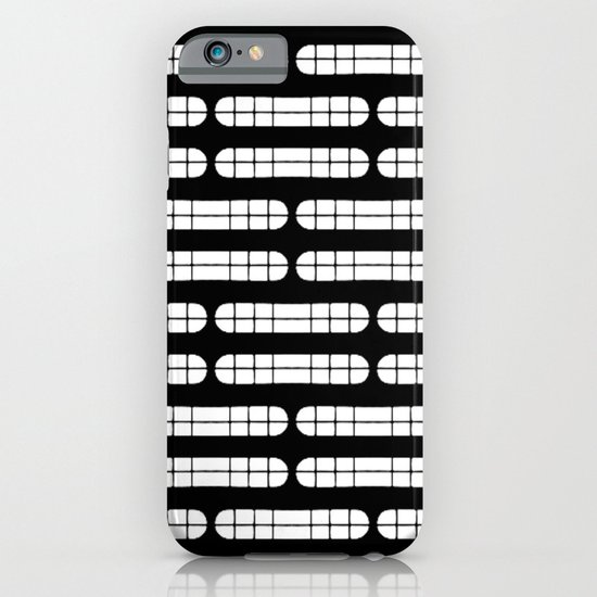 Grift Black & White Pattern iPhone & iPod Case