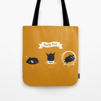 The Daily Tail Hamster Tote Bag