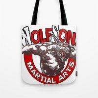 WolfSons2 Tote Bag