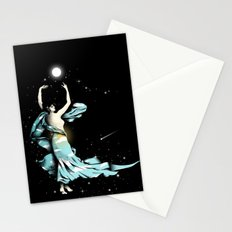 Dance Into The Moonlight Stationery Cards