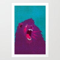 Voice Of Thunder Art Print
