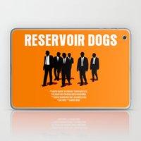 Reservoir Dogs Movie Poster Laptop & iPad Skin