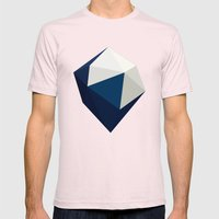 Indefinite Mens Fitted Tee Light Pink SMALL