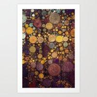 Enchanted Autumn -- Pain… Art Print